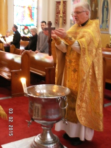 Blessing of the water