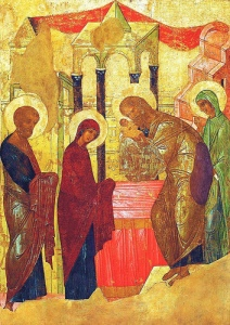 Icon by Andrei Rublev