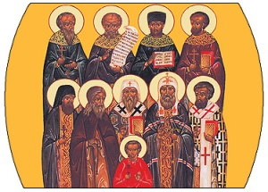 Icon of North American saints