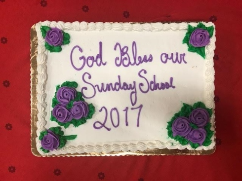 Church School Cake 2017