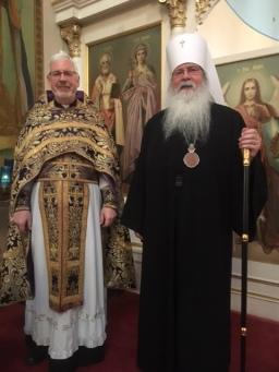 Fr John His Beatitude Metro. Tikhon 2020 cal